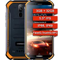 Противоударные защищенные телефоны Doogee S40 3Gb/32Gb IP68! NFC 4G Android 9 Pie