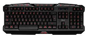 Клавиатура игровая TRUST GXT 280 LED 19470 Gaming USB, фото 2