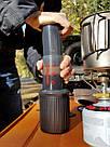С подарком!!! Походная кофеварка аэропресс Aeropress Go Aerobie USA на 3 чашки, оригинал, легкая и удобная, фото 6