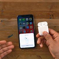 Беспроводные наушники Apple AirPods 2 Wireless Charging безпровідні навушники Аирпод 2 Bleutooth