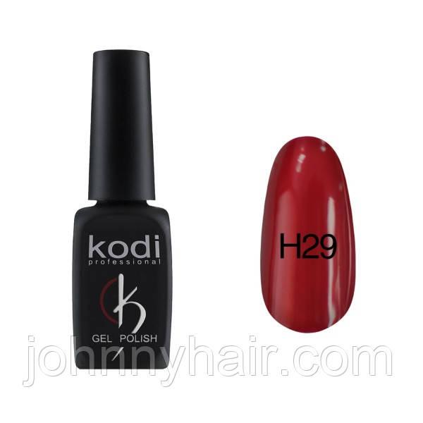 """Гель-лак для ногтей Kodi Professional """"Hollywood"""" №H29 8 мл"""