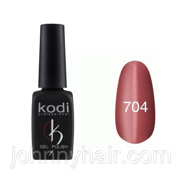 """Гель-лак для ногтей Kodi Professional """"Cat Eye"""" №704 8 мл"""