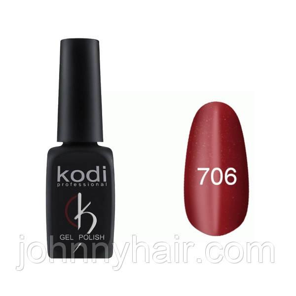 """Гель-лак для ногтей Kodi Professional """"Cat Eye"""" №706 8 мл"""