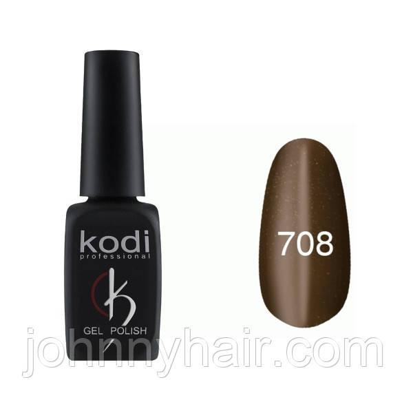 """Гель-лак для нігтів Kodi Professional """"Cat Eye"""" №708 8 мл"""