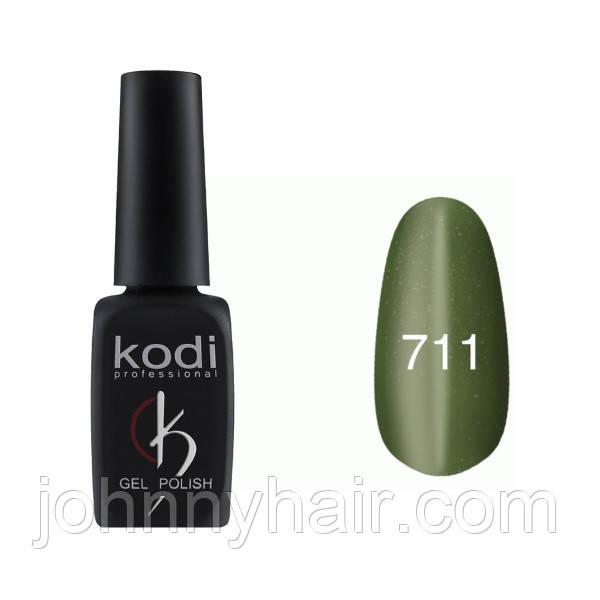 """Гель-лак для нігтів Kodi Professional """"Cat Eye"""" №711 8 мл"""
