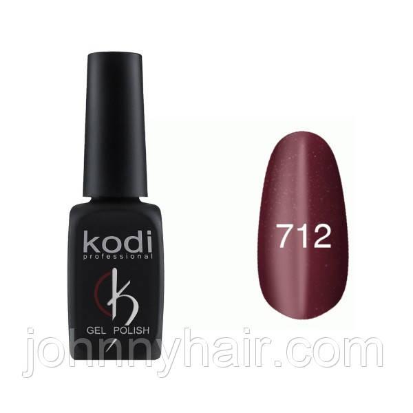 """Гель-лак для нігтів Kodi Professional """"Cat Eye"""" №712 8 мл"""