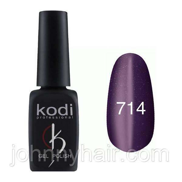 """Гель-лак для нігтів Kodi Professional """"Cat Eye"""" №714 8 мл"""