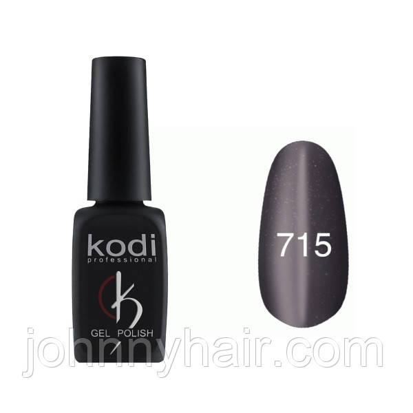 """Гель-лак для ногтей Kodi Professional """"Cat Eye"""" №715 8 мл"""