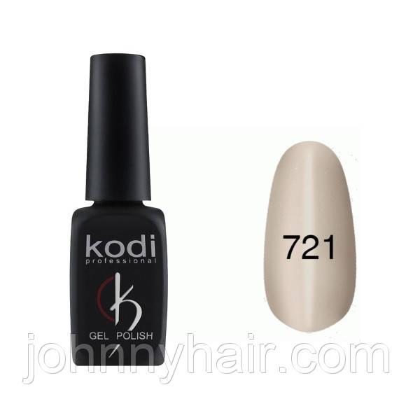 """Гель-лак для нігтів Kodi Professional """"Cat Eye"""" №721 8 мл"""