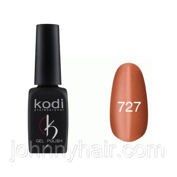 """Гель-лак для ногтей Kodi Professional """"Cat Eye"""" №727 8 мл"""