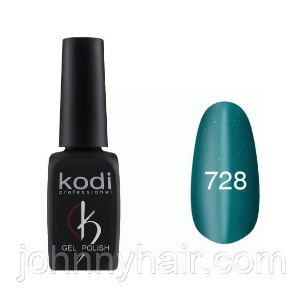 """Гель-лак для ногтей Kodi Professional """"Cat Eye"""" №728 8 мл"""