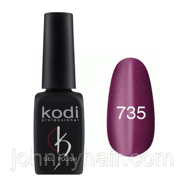 """Гель-лак для нігтів Kodi Professional """"Cat Eye"""" №735 8 мл"""