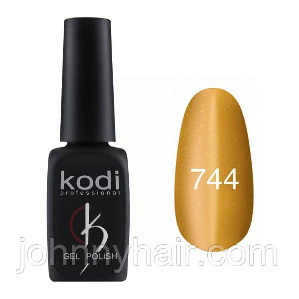 """Гель-лак для нігтів Kodi Professional """"Cat Eye"""" №744 8 мл"""