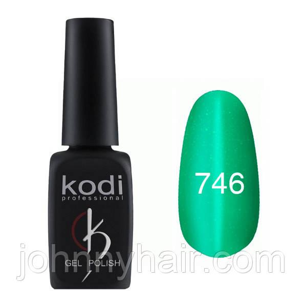 """Гель-лак для нігтів Kodi Professional """"Cat Eye"""" №746 8 мл"""