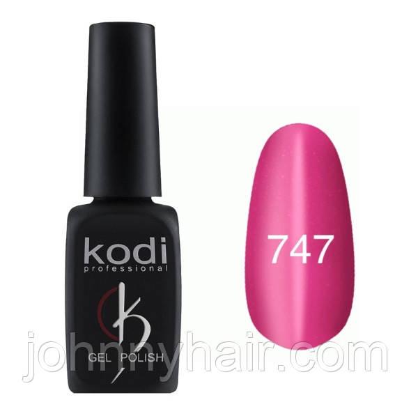 """Гель-лак для нігтів Kodi Professional """"Cat Eye"""" №747 8 мл"""
