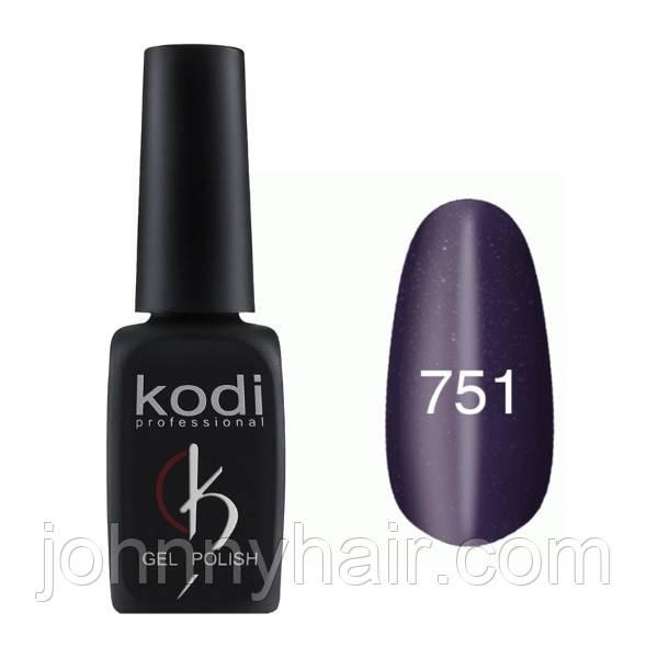 """Гель-лак для нігтів Kodi Professional """"Cat Eye"""" №751 8 мл"""