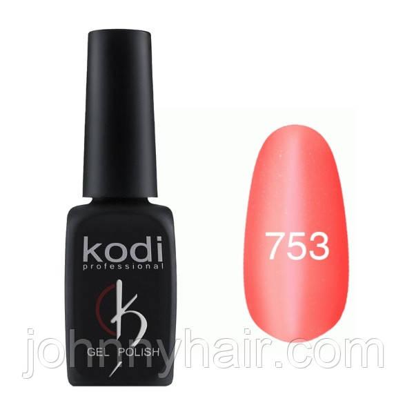 """Гель-лак для ногтей Kodi Professional """"Cat Eye"""" №753 8 мл"""
