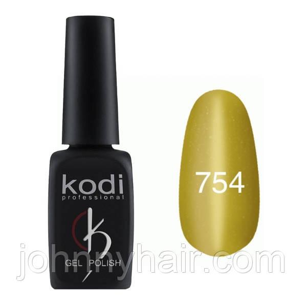 """Гель-лак для нігтів Kodi Professional """"Cat Eye"""" №754 8 мл"""