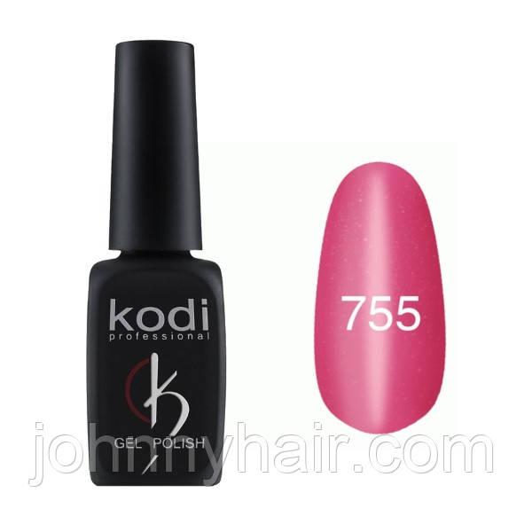 """Гель-лак для нігтів Kodi Professional """"Cat Eye"""" №755 8 мл"""