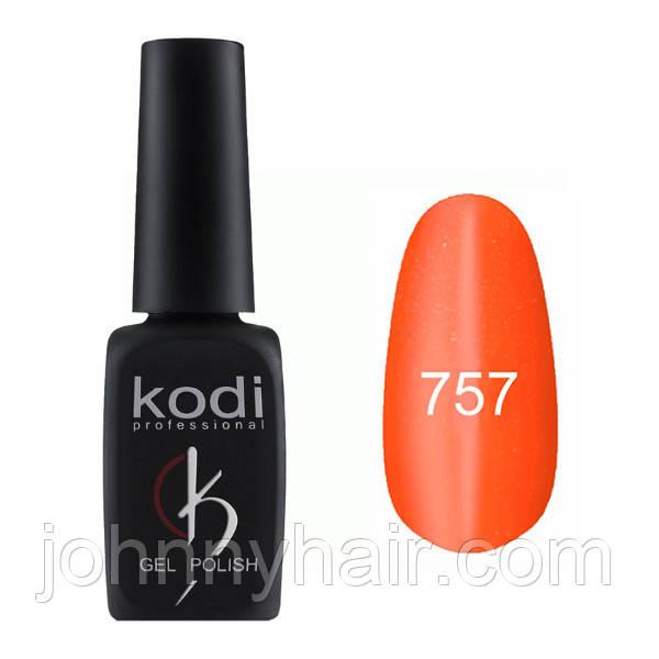 """Гель-лак для ногтей Kodi Professional """"Cat Eye"""" №757 8 мл"""