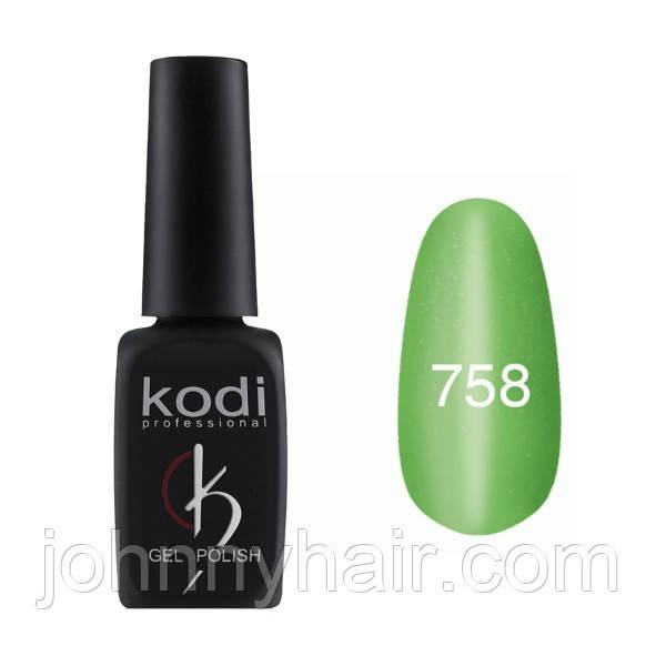 """Гель-лак для нігтів Kodi Professional """"Cat Eye"""" №758 8 мл"""