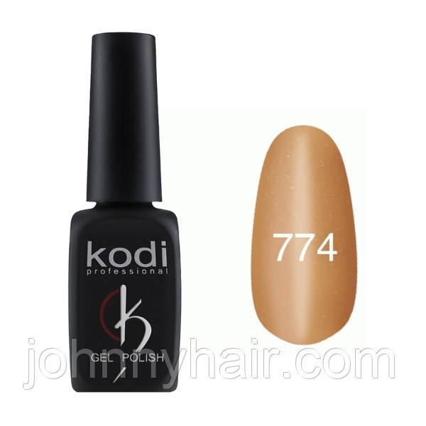 """Гель-лак для ногтей Kodi Professional """"Cat Eye"""" №774 8 мл"""