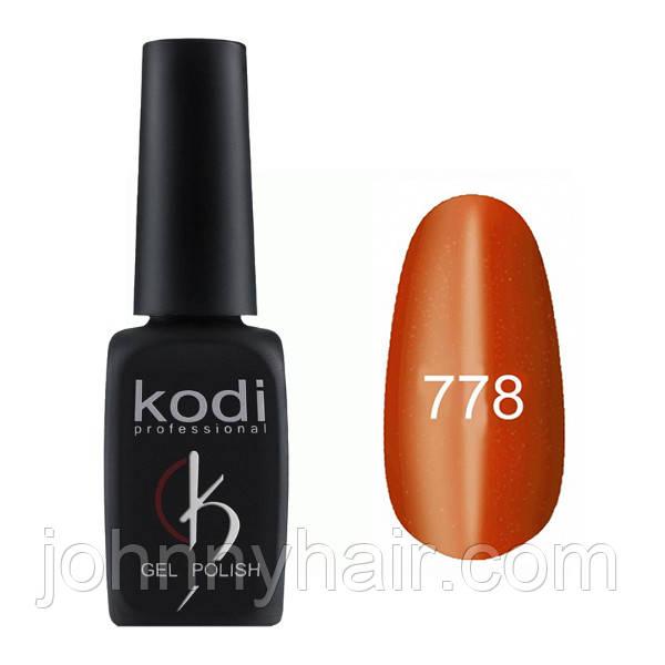 """Гель-лак для ногтей Kodi Professional """"Cat Eye"""" №778 8 мл"""