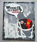 Картина Где мой подарочек 60 х 70 см масло холст галерейная натяжка стиль комиксы, фото 3