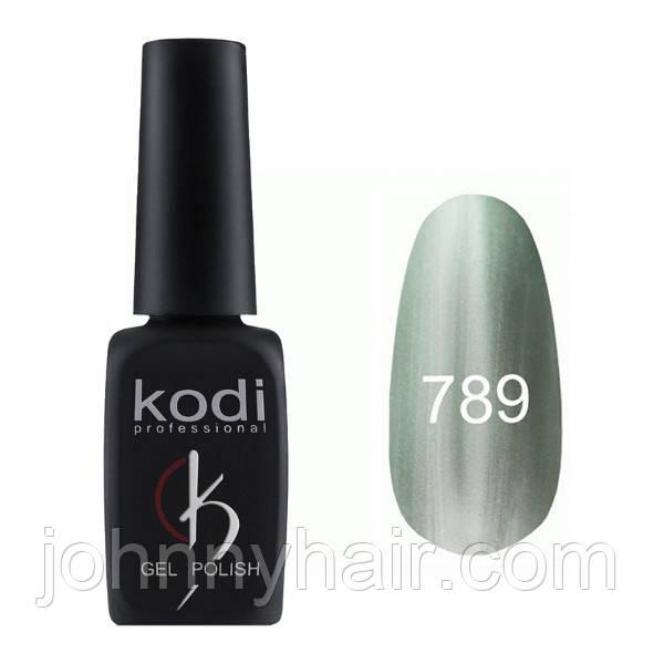 """Гель-лак для нігтів Kodi Professional """"Cat Eye"""" №789 8 мл"""