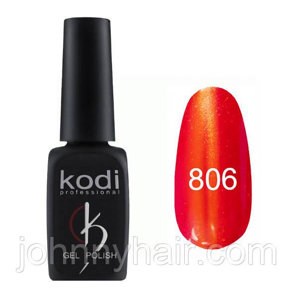 """Гель-лак для нігтів Kodi Professional """"Cat Eye"""" №806 8 мл"""