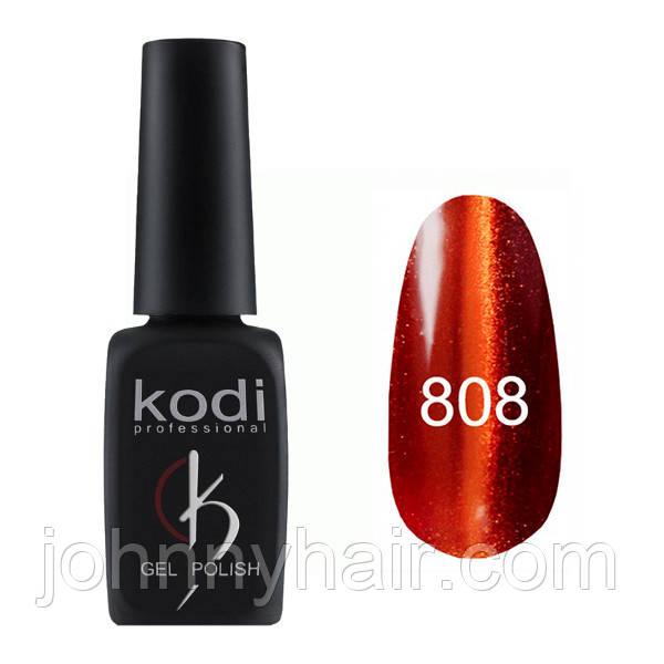 """Гель-лак для ногтей Kodi Professional """"Cat Eye"""" №808 8 мл"""