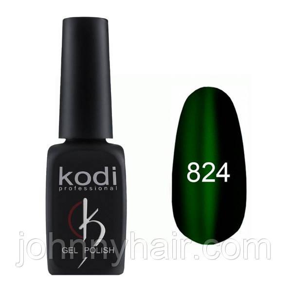 """Гель-лак для нігтів Kodi Professional """"Cat Eye"""" №824 8 мл"""