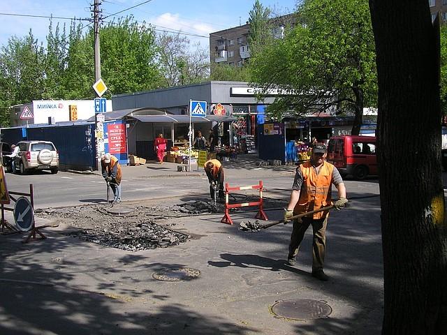 Асфальтирование, ямочный ремонт Киев