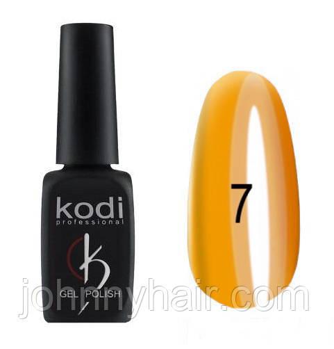 """Гель-лак для ногтей Kodi Professional """"Crystal"""" №07 8 мл"""