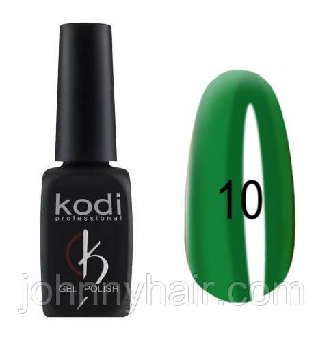 """Гель-лак для нігтів Kodi Professional """"Crystal"""" №10 8 мл"""