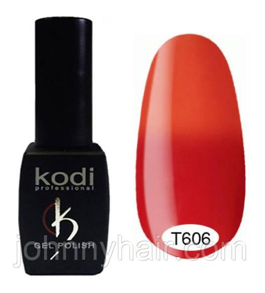 Термо гель-лак для ногтей Kodi Professional №606 8 мл