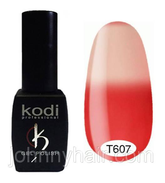 Термо гель-лак для ногтей Kodi Professional №607 8 мл