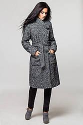 Пальто женское Варшава зима, PV873 серый