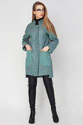 Пальто демисезонное женское Бельгия, PB2040 оливковый