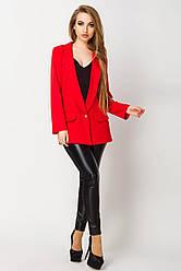 Піджак жіночий Адалина, PA2133 червоний