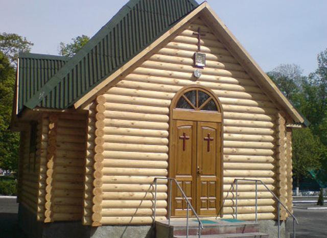 Церковь из бруса