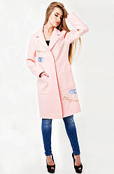 Пальто Мехико, розовый