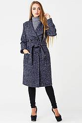 Пальто Варшава утепленное, PV1693 петелька синий