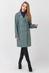 Пальто демисезонное женское Будапешт, PB1771 оливковый