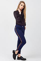 Женские стильные брюки Шарлотта, BS2365 темно синий