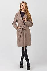 Пальто женское Кипр, PK2356 мокко