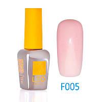 Гель-лак Leo (french) для ногтей №005 Полупрозрачный нежно-розовый 9 мл