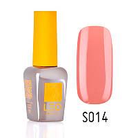 Гель-лак для ногтей LEO seasons №014 Плотный коралловый (эмаль) 9 мл