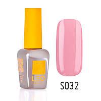 Гель-лак для ногтей LEO seasons №032 Плотный бледно-розовый (эмаль) 9 мл