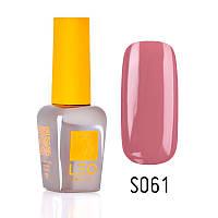 Гель-лак для ногтей LEO seasons №061 Плотный темный розово-бежевый (эмаль) 9 мл